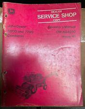 John Deere 6600 And 7700 Combines Operator Manual Om H84020 H1 W 2