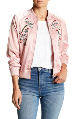 Pink Dusty 175 Broderet M Satin Juliet Nwt Romeo Bomber Couture wH4wqU