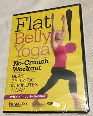 flat belly yoga nocrunch workout with kimberly fowler