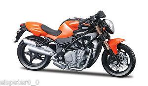MV-Agusta-Brutale-S-orange-Bburago-Motorrad-Modell-1-18-OVP-Neu