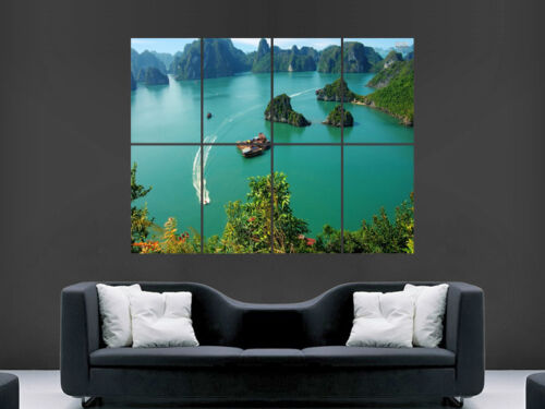 HA LONG BAY VIETNAM    WALL LARGE IMAGE GIANT POSTER