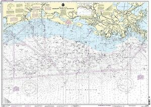 NOAA Chart Mississippi River to Galveston 77th Edition 11340