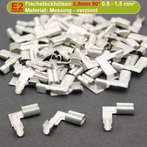 vaina 2,8mm 4,8mm 6,3mm cable zapatos Fundas de conector plano los conectores o enchufes blank