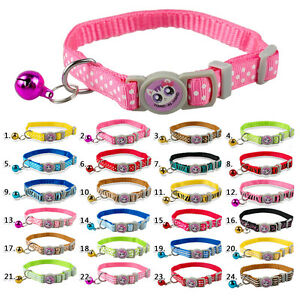 6pcs-Nylon-Safety-Breakaway-Cat-Collars-with-Bell-for-Kitten-Wholesale