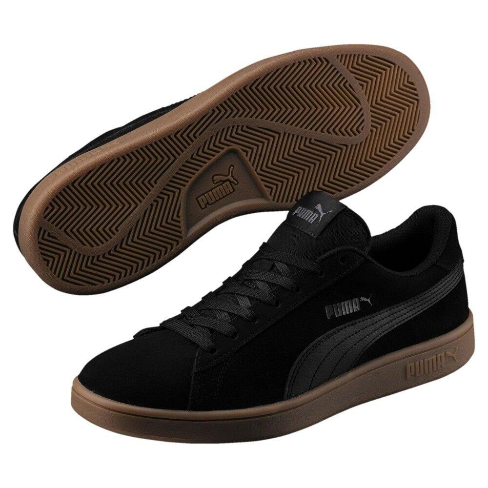 Puma Smash v2 Men's Sport Shoes Sneakers Black 36498915 Seasonal clearance sale