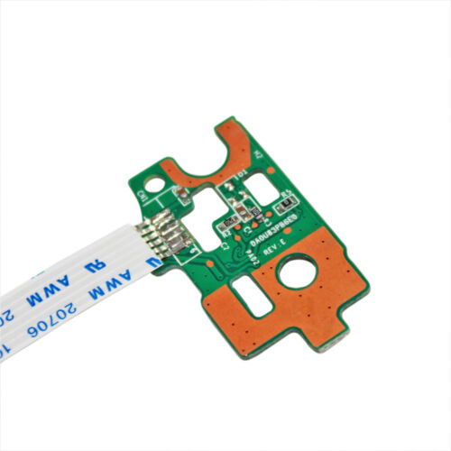 DC Power Button Board w// Ribbon For HP Pavilion 15-f023wm 15-f048ca 15-f039wm