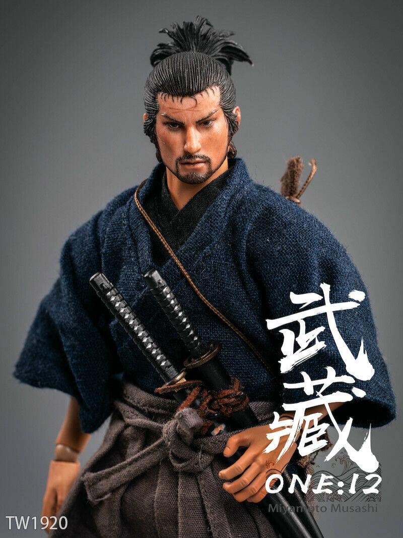 Orden previa escala 1 12 twJuguetes TW1920 Miyamoto Musashi Samurai Figura De Acción