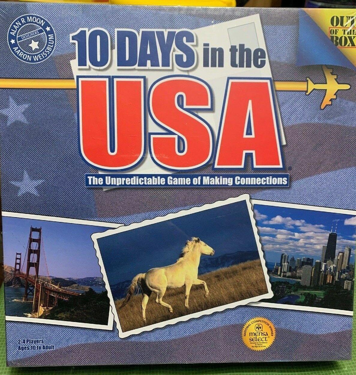 10 dagar i USA (originalutgåvan) -NY SEALD