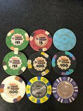 Bob Stupak Vegas WorldВ - Complete Set of Casino Chips Las Vegas Nevada