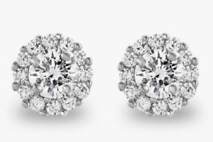 Radiant-2ct-LC-Moissanite-Stud-Earrings-14K-White-Gold-Finish