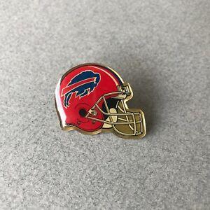 Pin's Vintage NFL Helmet Logo 90's BUFFALO BILLS Casque