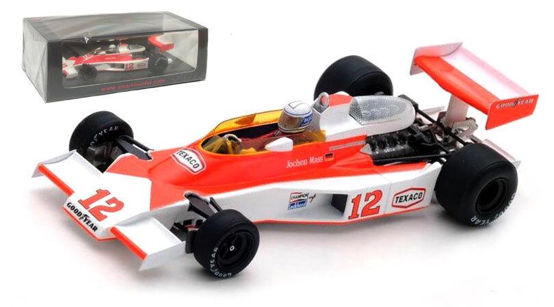 Spark S4361 McLaren M23  5th Monaco GP 1976 - Jochen Mass 1 43 Scale  no.1 en ligne