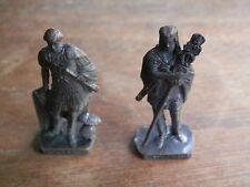 vecchio soldatino in metallo brunito ROMAN 1 3 SCAME sorpresa dell ovetto Kinder