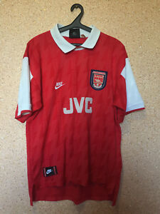 6eb387002 RARE ARSENAL LONDON ENGLAND 1994 1996 FOOTBALL SHIRT JERSEY CAMISETA ...