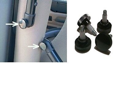 Soft Top Fast Removal Screws fit all Jeep Wrangler TJ 1997 through 2006