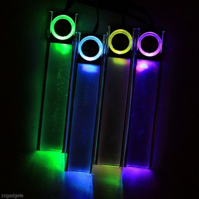 Colorful Car Charge Light LED Interior Floor Atmosphere Decor Light Lamp 4 in 1