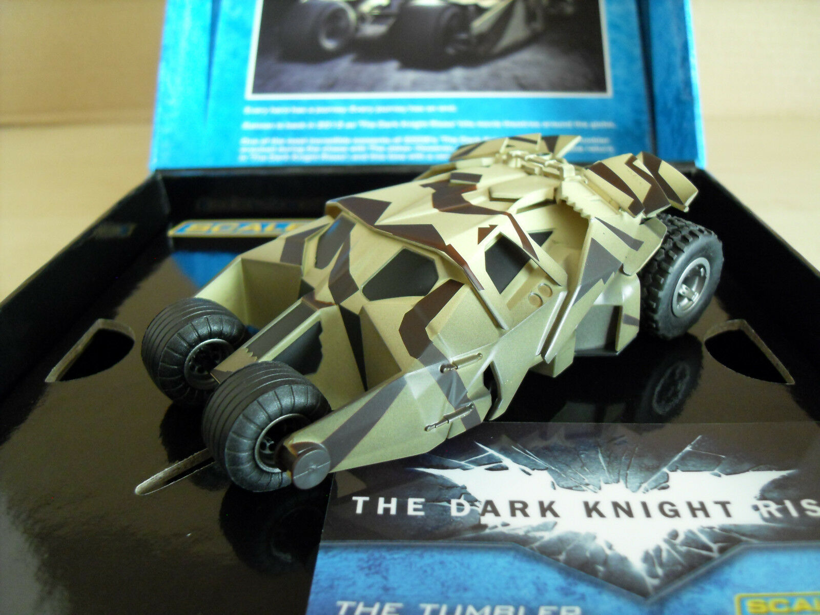 Scalextric C3333a Batman 'The Tumbler' Batmobile - Brand New in Box.