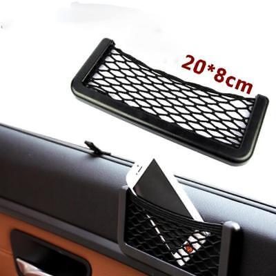 Black Car Cargo Seat Side Interior Back Mesh Storage Net Bag Phone Pocket Holder