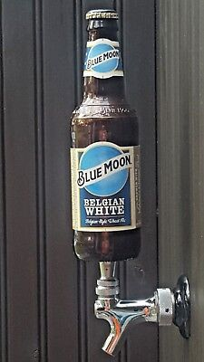BLUE MOON BEER TAP HANDLE A COOL GIFT for MANCAVE or BOTTLE  DISPLAY