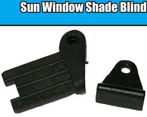 Sun Window Shade Blind Corner Plastic Clips T Slider Bracket BMW E38 E39 Mercede