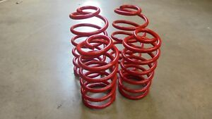 Triumph TR7 TR8 ** SET OF 4 UPRATED Road SPRINGS ** Pair of front + Pair of rear
