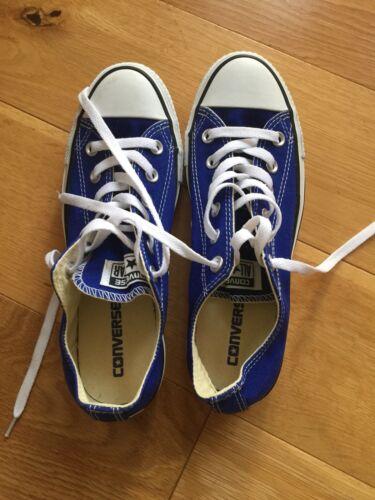 Scarpe 6 All Blue Royal Indossato Converse White volta ginnastica da Star eccellenti una condizioni OOcWnax