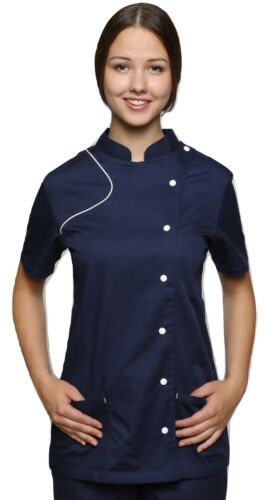 Kittiwake Health Healthcare Nurse SPA Salon Therapist Massage Tunic Uniform Top