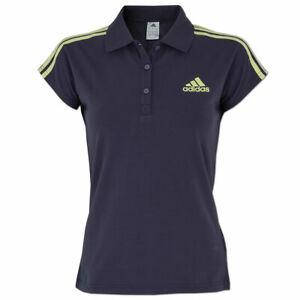 adidas Damen Poloshirt Fitness Freizeit Präsentations Polo