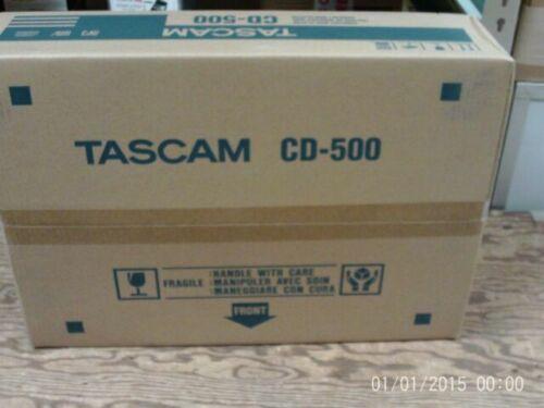 Tascam CD-500B CD500B Signal-Racespace CD Player Brand New