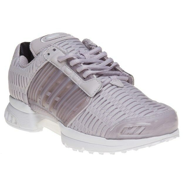 Zapatos promocionales para hombres y mujeres New Womens adidas Purple Pink Climacool 1 Nylon Trainers Retro Lace Up