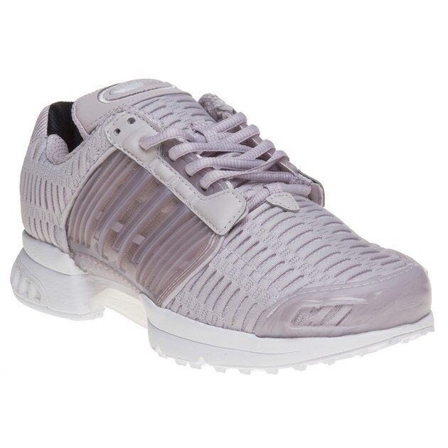 sale retailer 862cb feab7 adidas Climacool 1 Women Shoes Ladies Running Trainers Clima Cool Flux Grey  Ice Purple-footwear White BB5301 UK 4