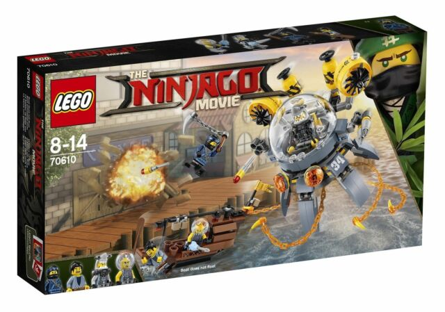 Lego The Lego Ninjago Movie Flying Jelly Sub 2017 70610 For Sale Online Ebay