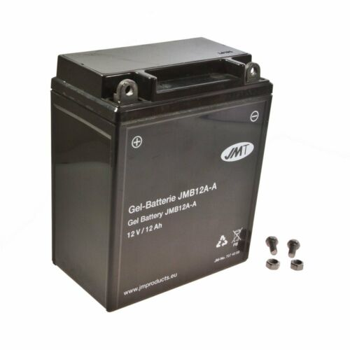 Gel Batterie yb12a-a HONDA CB 250 K cb250 Bj 1971-1973