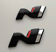 Hyundai-i-30N-N-Symbol-Set-Cover-Hatchback-hochglanz-schwarz-blacked-out-Badge Indexbild 1