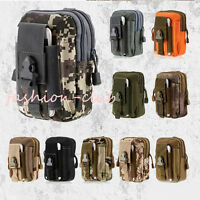 Outdoor Tactical Camo Waist Pack Purse Military Travel Hiking Sport Phone Bags