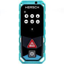 HERSCH Laser Entfernungsmesser LEM 50 mit Bluetooth und App, IP65, Ni-Mh Akkus