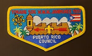 1997 Boy Scout National Jamboree OA Patch
