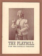 "Cole Porter ""DU BARRY WAS A LADY"" Bert Lahr / Betty Allen 1940 Broadway Playbill"