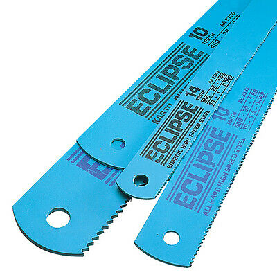 "Eclipse 16""x 1.1/4"" .062 10tpi HSS power hacksaw blade hack saw 400 x 32 x 1.6mm"