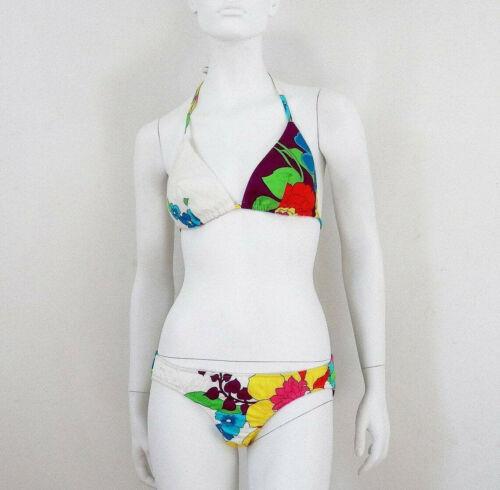 Neon Floral 2pc Bathing Suit Women's Bathing Suit