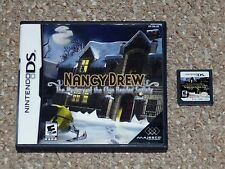 Nancy Drew: The Mystery of the Clue Bender Society Nintendo DS Game & Case