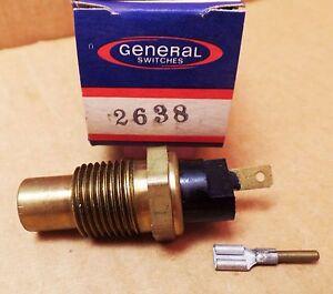 General 2638 WT345 Coolant Temperature Switch Chevrolet Pontiac GMC 75-82 USA