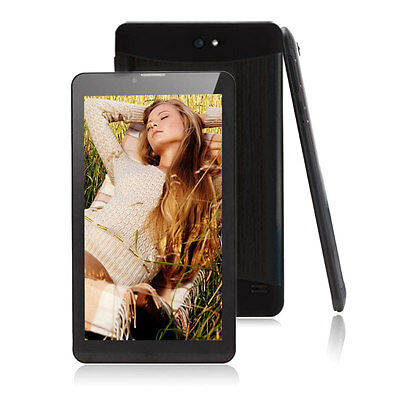 "7"" Tablet PC WCDMA 3G Phablet HD Google Android 4.2 Dual Core Bluetooth 4.0 GPS"