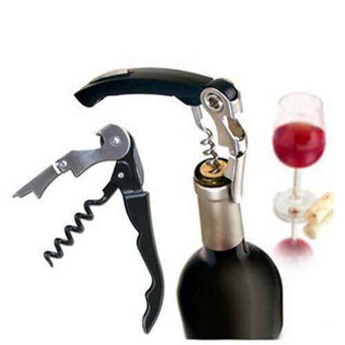 WINE Bottle Opener Waiters Friendly Stainless Steel Cork Screw Bottle Opener