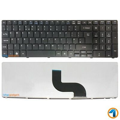 Acer Aspire 5750 5750G 5750Z 5750ZG Laptop Keyboard UK Layout Black NEW