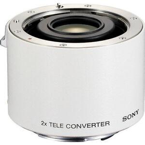 Sony Téléconverter SAL-20TC Monture A 2x Blanc