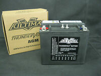 Ultima Thundervolt Agm Battery For Harley Softail 1984-1990 65991-82b