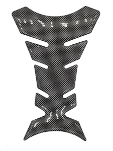 Adesivo-Proteggi-Serbatoio-Moto-Paraserbatoio-effetto-Carbonio-nero-20x13x10cm