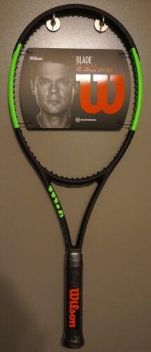 Nouveau Wilson Blade 98 18x20 droits compensateurs 2018//2019 4 1//4 Raquette de Tennis