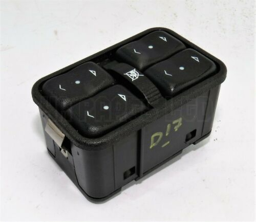 Vauxhall Astra G Corsa C Zafira Meriva A 4-WAY Window Control Switch GM 13363401